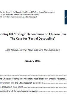 Understanding UK Strategic Dependence on Chinese Investment