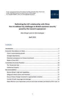 Rethinking the UK's relationship with China